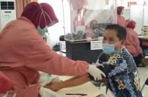 Selama Vaksinasi Massal di Kutim, Tak Ada KIPI Berat