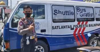 Tunjang Zero Tolerance di Balikpapan, 3 Shuttle Bus Disediakan