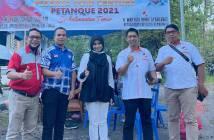 Samarinda Berjaya di Turnamen Petanque