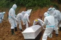 Relawan Kecamatan di Kukar Dilatih Pemulasaran Jenazah COVID-19