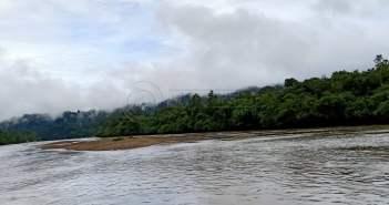 Perahu Karam, Pencari Pasir di Mahulu Tenggelam di Sungai Mahakam