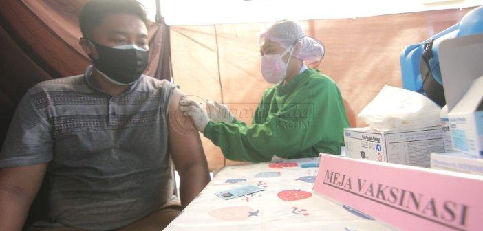 Gerai Vaksin Presisi Sasar 160 Warga Perumahan Wika Balikpapan