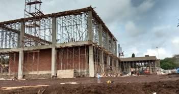 20 Tahun Pinjam Kantor, Proyek Gedung BKAD Kubar Ditarget Selesai Akhir Tahun