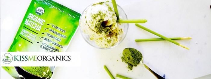 Kiss Me Organics Matcha Green Tea Powder Nomss Testimonial Page and customer feedback