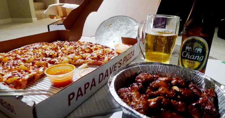 Papa Dave's Pizza Port Coquitlam | Just Eat Food Delivery