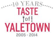 Taste of Yaletown 2014 TOY Wordmark 10years