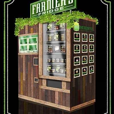 Farmer's Fridge | Fresh Salad Vending Machine Chicago