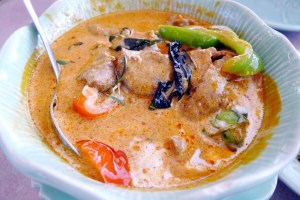 Thai House Richmond Lunch Special Curry instanomss nomss