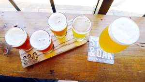 Steel and Oak Brewery New Westminster Craft Beer Instanomss Nomss Vancouver Food Blog Canada