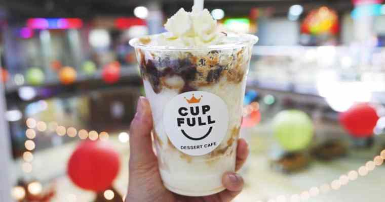 Cup Full Dessert Cafe Coquitlam | Soft Peaks Ice Cream Henderson Place Mall