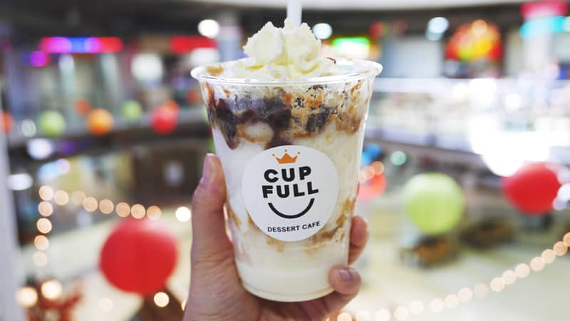 Cup Full Dessert Cafe Henderson Mall Coquitlam Soft Peaks Soft Serve Ice Cream Instanomss Nomss Delicious Food Photography Healthy Travel Lifestyle Canada