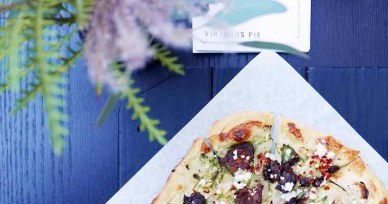 Virtuous Pie Vancouver   Vegan Pizza and Ice Cream Chinatown