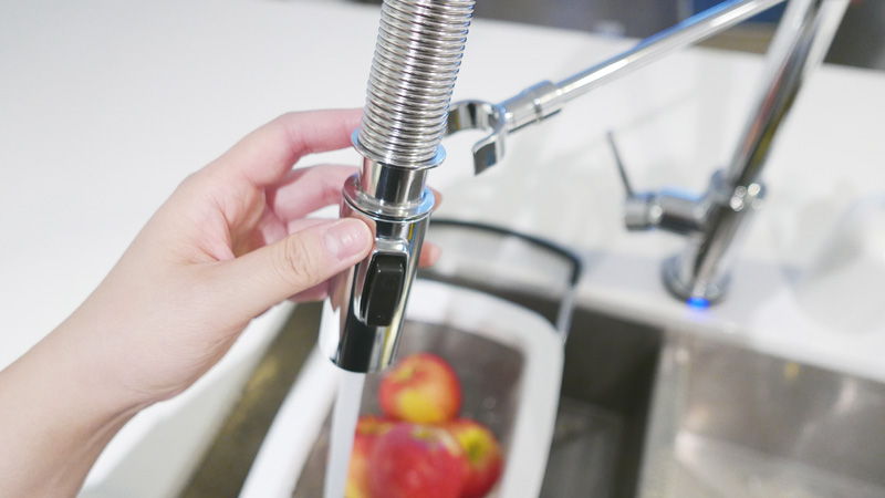 Update Your Kitchen with a Gourmet Kitchen Faucet Delta Trinsic Pro Instanomss Nomss Delicious Food Photography Healthy Travel Lifestyle Canada