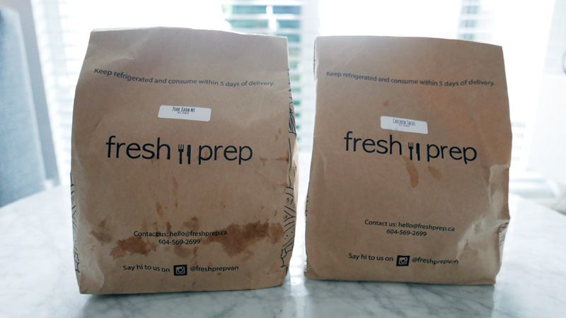 Fresh Prep Meal Delivery Service Vancouver Nomss.com Delicious Food Photography Healthy Travel Lifestyle