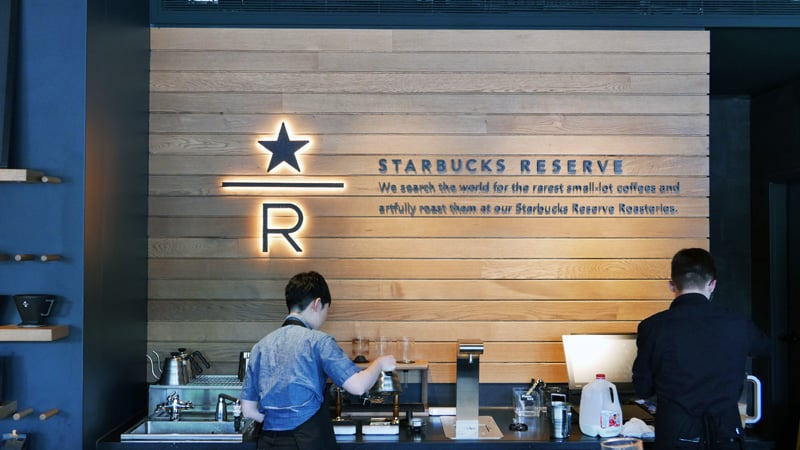 STARBUCKS Reserve Coffee Bar Vancouver | Mount Pleasant Main Street