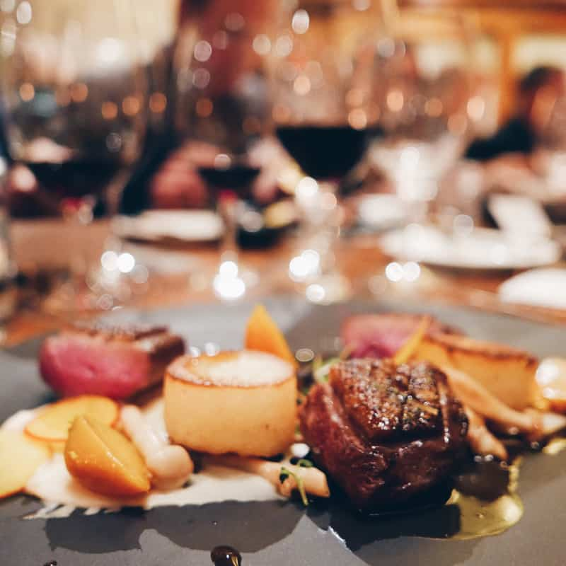 ITALIAN DINNER AT YEW SEAFOOD | VANCOUVER INTERNATIONAL WINE FESTIVAL