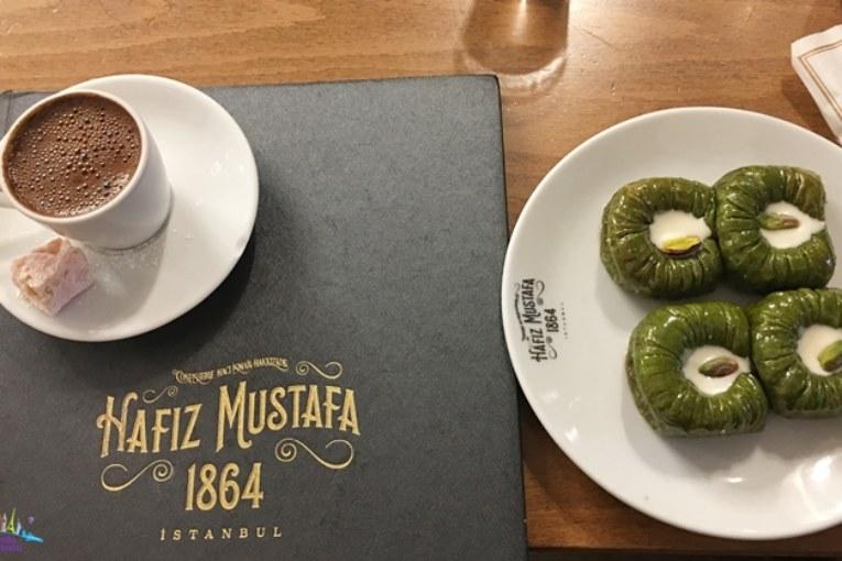 Onde Comer Doce Turco em Istambul : Hafiz Mustafa