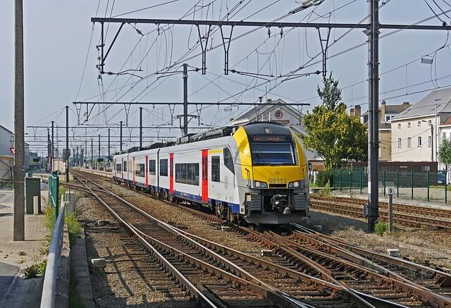 trem na belgica