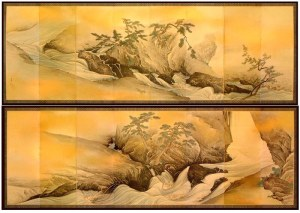 Hozugawa-zu Byobu / Maruyama Shijou