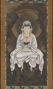 Motonobu Kanou / White-robed Kannon, Bodhisattva of Compassion