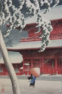 Artist: Hasui Kawase / Title: Zoujou-ji Temple