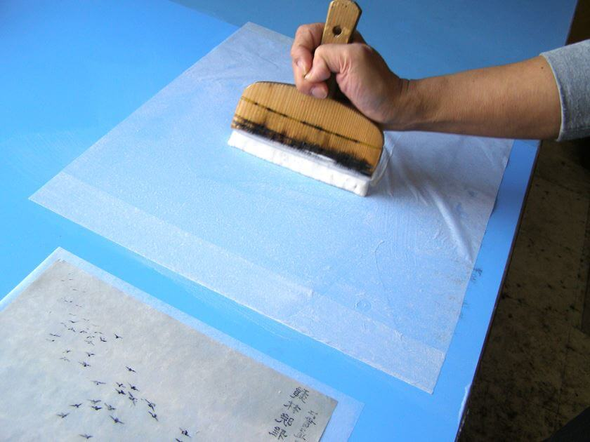 United States America Kakejiku hanging scroll remount
