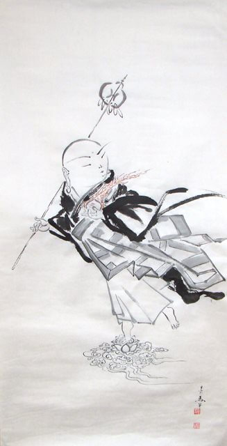 Mounting Work Request from Canadian Japanese - Style Painter