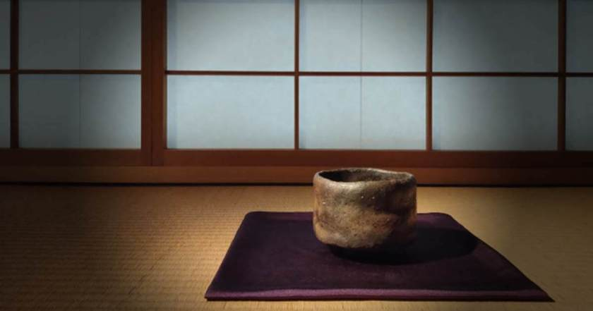 An American Customer Purchased a Kakejiku Hanging Scroll with Zen Terminology for His Tea Room