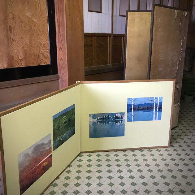 三木市 屏風 修理 表装