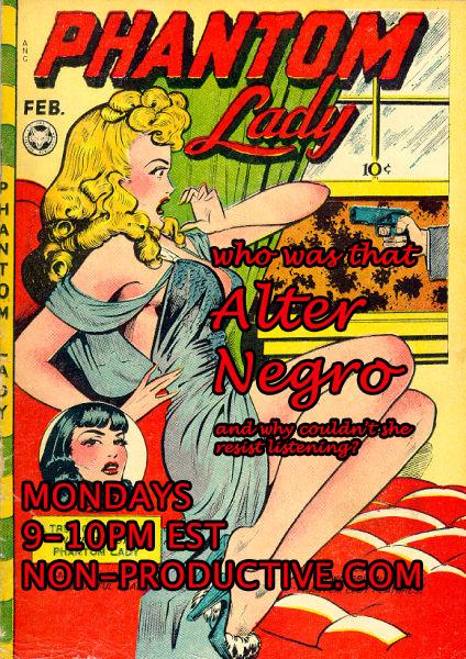 Alter Negro Comic