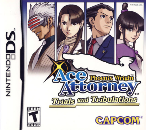 Ace Attorney 3 Trials and Tribulations