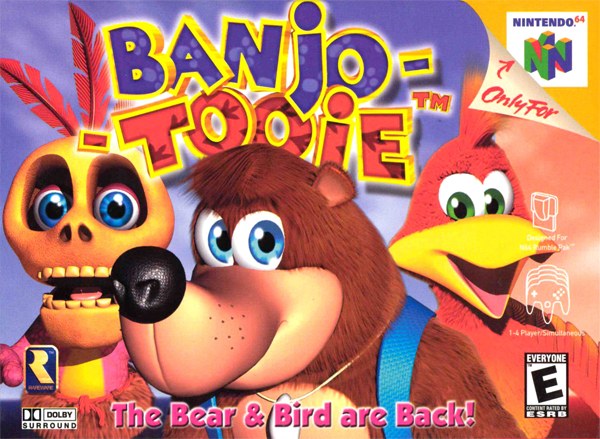 Banjo-Tooie cover