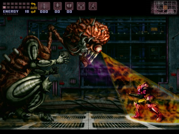 Super Metroid - Mother Brain