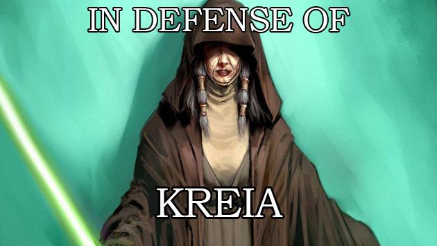 In Defense of Kreia
