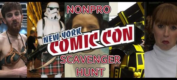 NonPro Scavenger Hunt