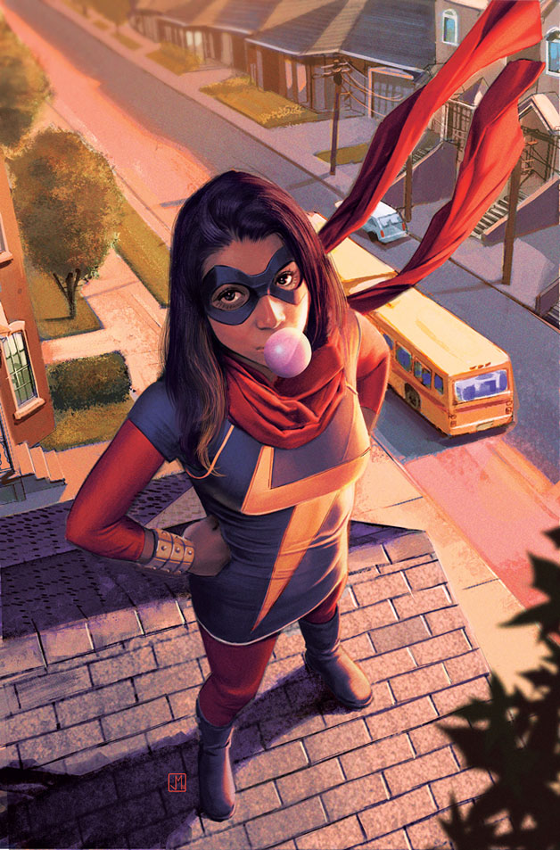 Ms. Marvel Vol 3 2 Molina Variant