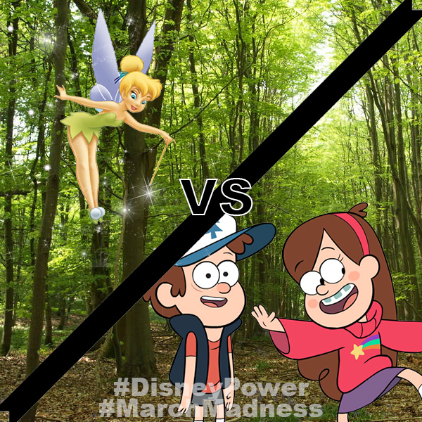 tinkerbell vs gravity falls