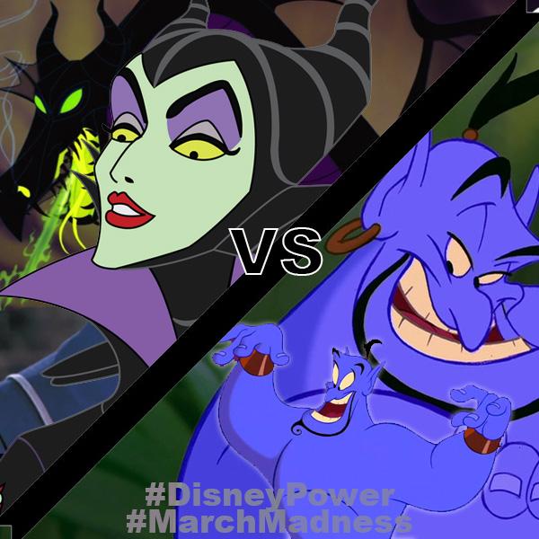 Maleficent vs Genie