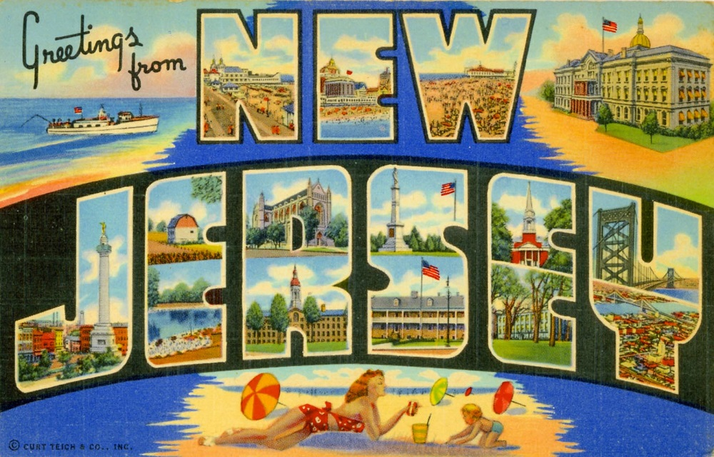 Greetings from New Jersey