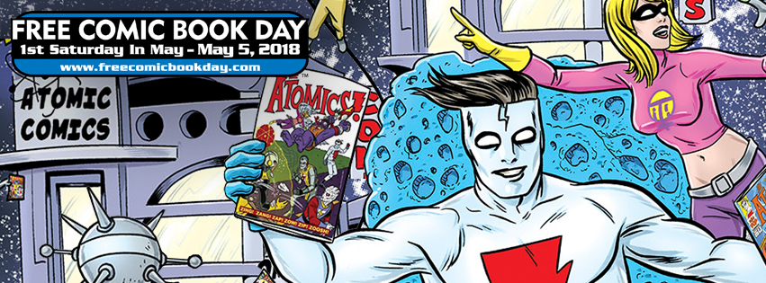 Free Comic Book Day 2018 – Near Mint!