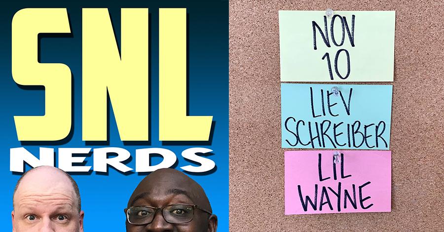SNL Nerds – Liev Schreiber and Lil Wayne