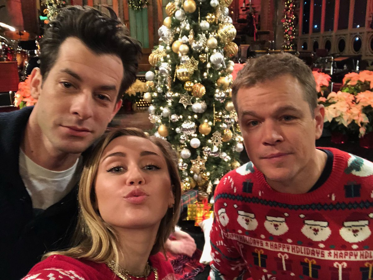 SNL Nerds – Episode 12 – Matt Damon and Mark Ronson and Miley Cyrus