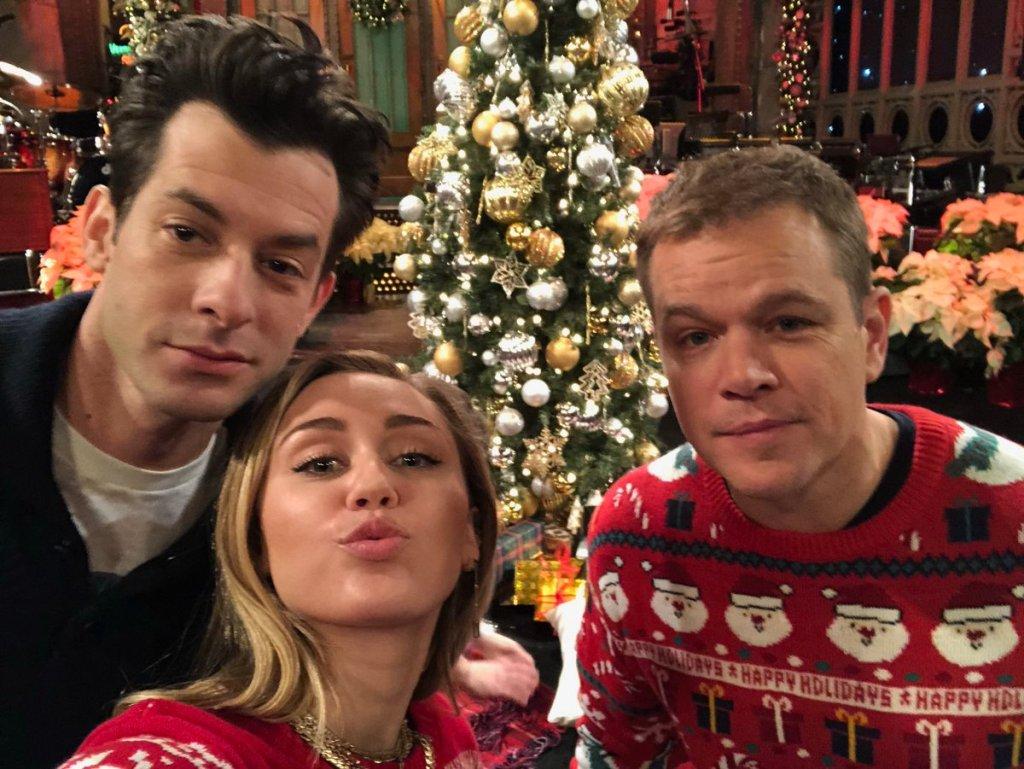 Matt Damon Snl Christmas.Snl Nerds Episode 12 Matt Damon And Mark Ronson And