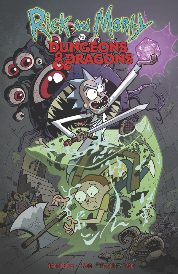 Near Mint – Rick and Morty vs Dungeons & Dragons!