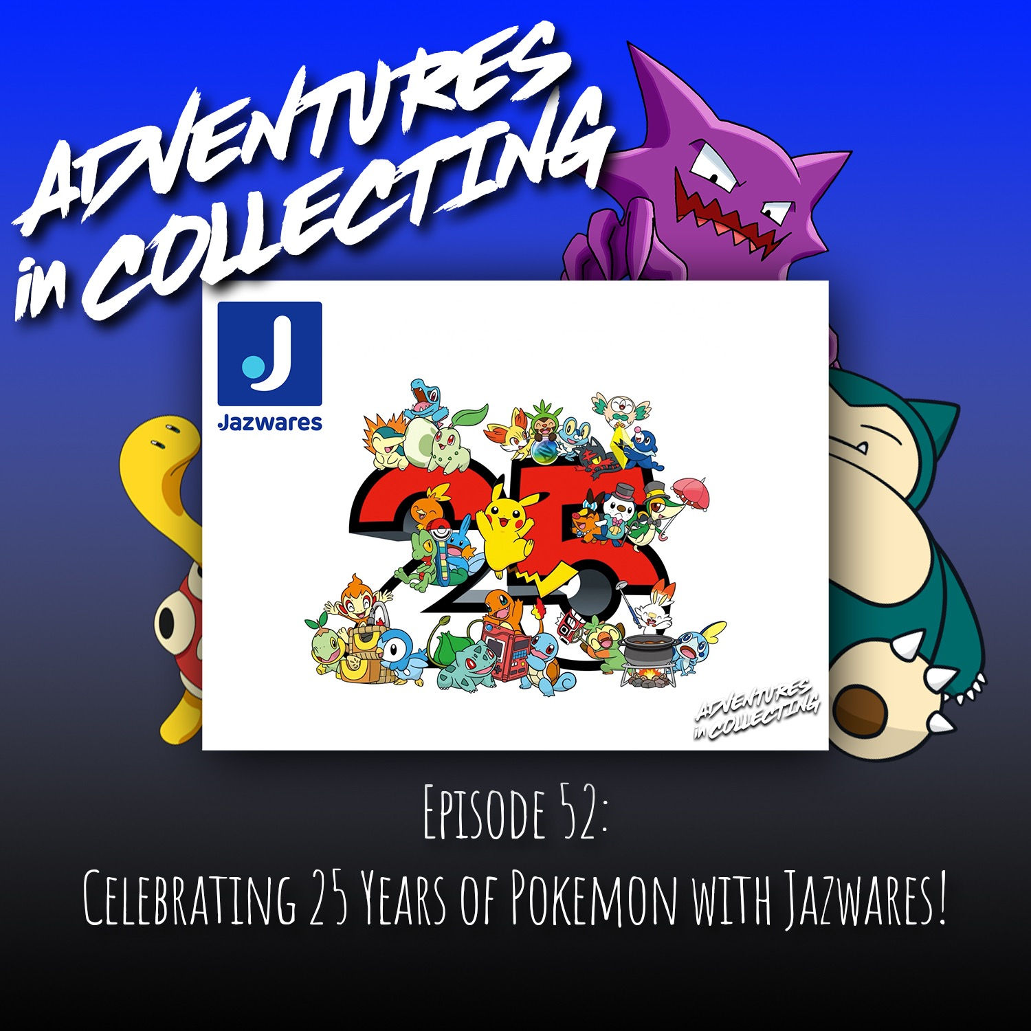 Celebrating 25 Years of Pokemon with Jazwares! – Adventures in Collecting