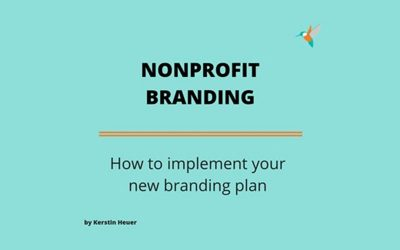 How to implement your nonprofit branding plan