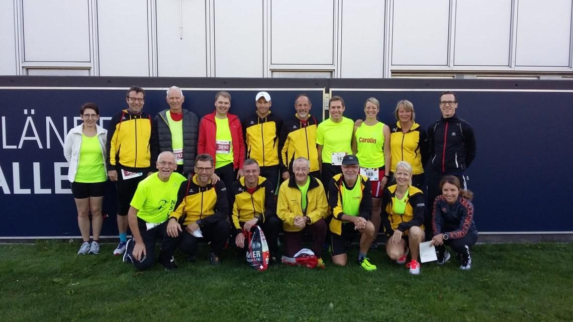 Vereinsfahrt nach Ulm zum Einsteinmarathon