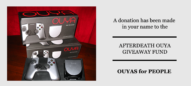 An Afterdeath Ouya Giveaway