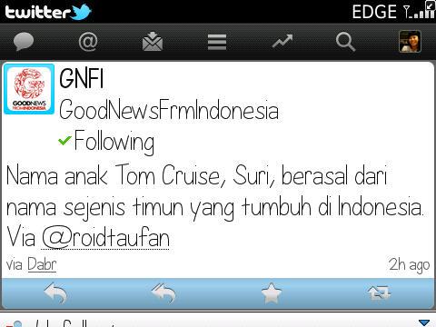 Admin @GNFI dan Timun Suri