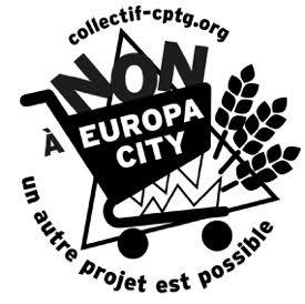 Logo Noir et Blanc pour impressions avec texte version 2
